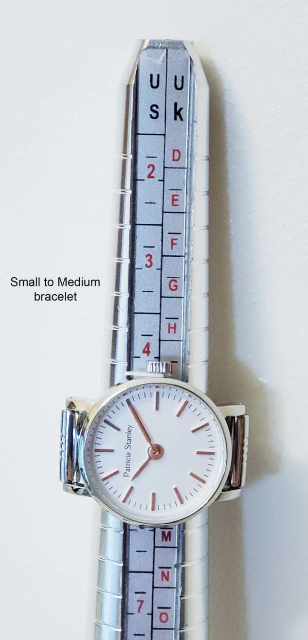 Size of Small to Medium Spring watch bracelet